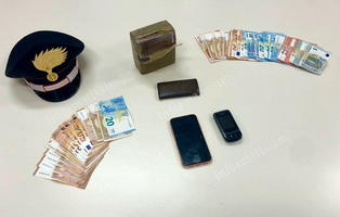 CC Putignano Arresto pusher e sequestro 1 kg hashish