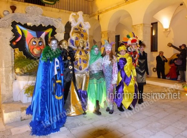 Putignano In mostra l'arte di creare i costumi del carnevale