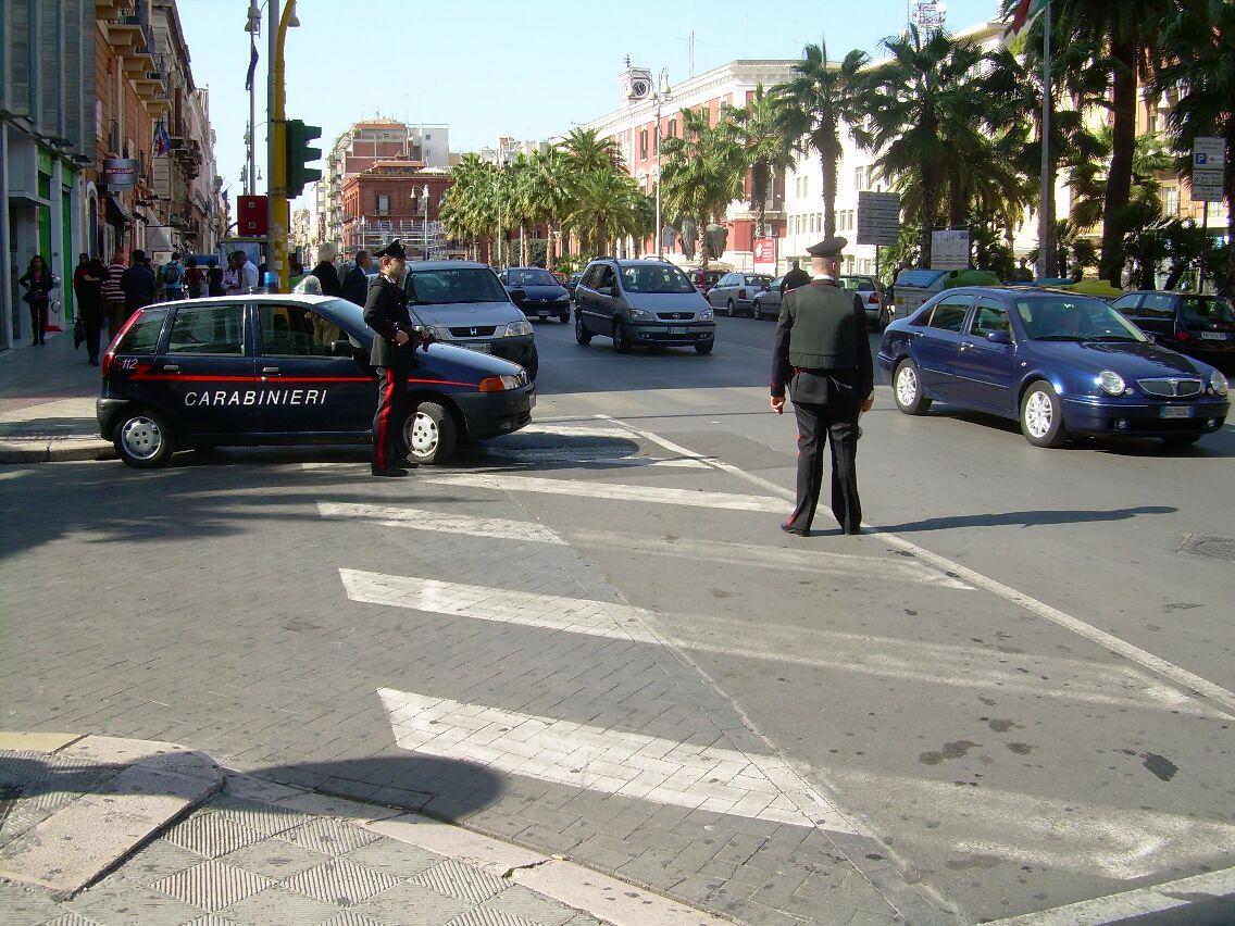 Controllo carabinieri