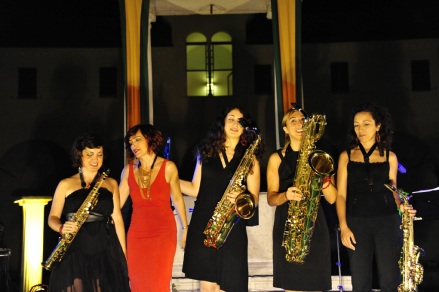 Roberta_Righi_Ladies_saxophone_quartet