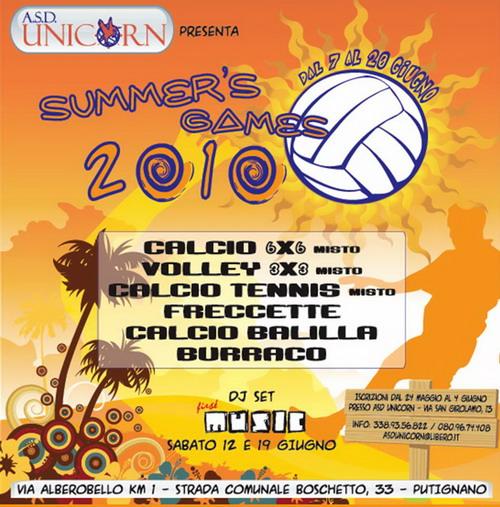 Summer's Games 2010 Putignano