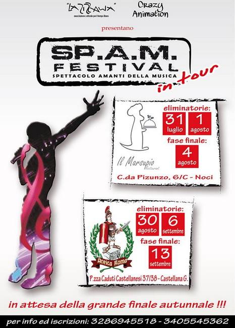 Zizzania_evento_SPAM