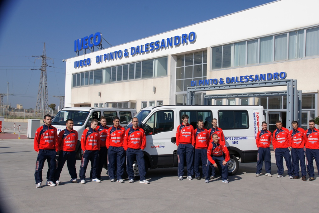 Di Pinto e Sport Five Putignano