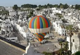 Alberobello Voli in mongolfiera low