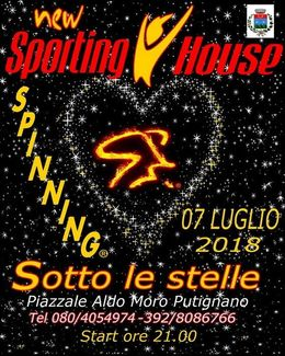 Spinning sotto le Stelle 2018