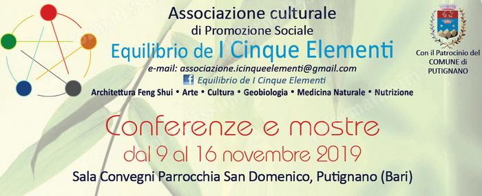 Putignano - Ciclo di conferenze e mostre su architettura, arte e design - Putignano Informatissimo