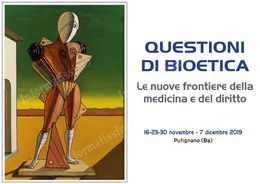 Questioni di Bioetica Conferenze