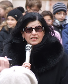 Liliana Camarda dirigente circolo Minzele