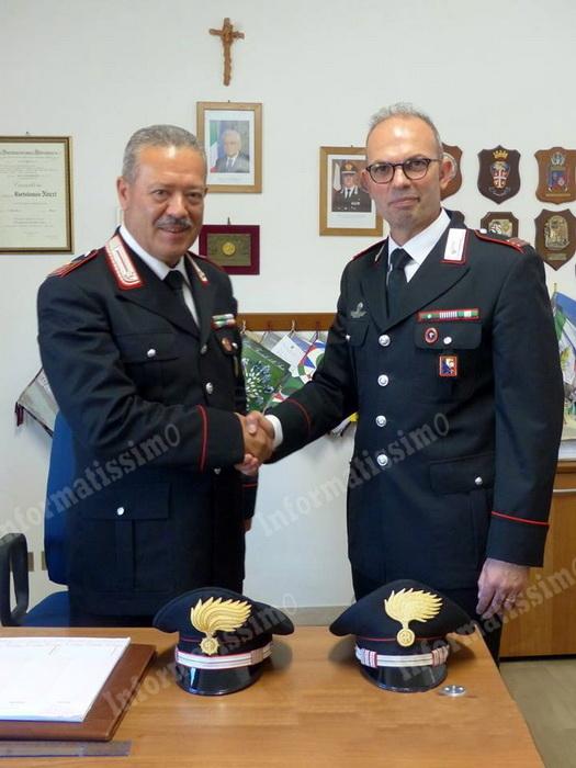 Il Comandante Migliaccio lascia la Stazione CC di Putignano per nuovo incarico - Putignano Informatissimo