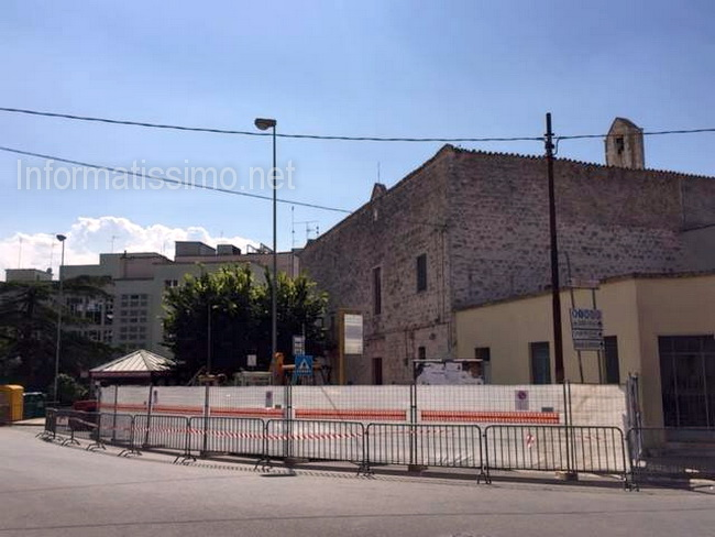 Chiesetta_Cappuccini_lavori_marciapiede