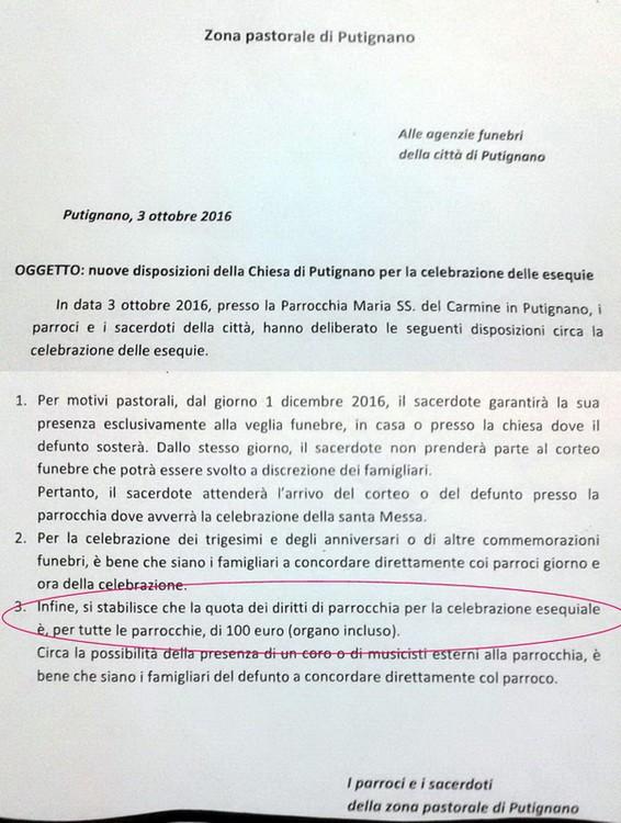 Clero_Zonale_-_Disposizioni_funerali