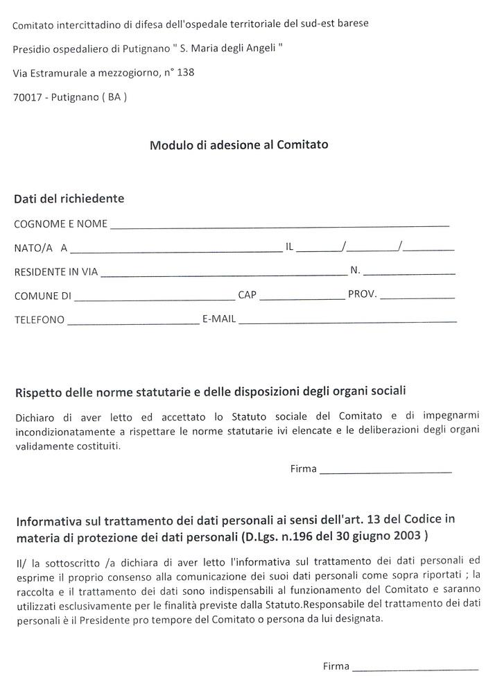 Comitato_Ospedale_modulo_adesione