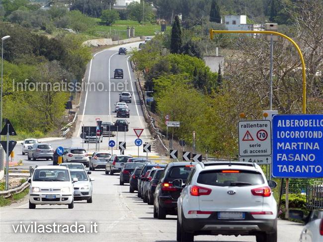 SS172_putignano_alberobello_traffico