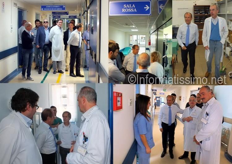 Schittulli_visita_Ospedale_di_Putignano_collage_low
