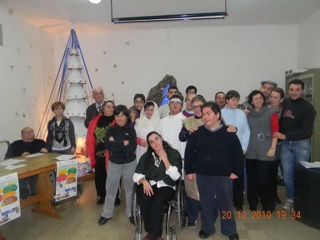 natale 2010 ass.amici degli handicappati