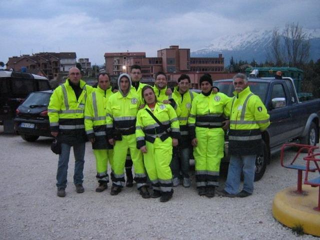 gruppo OPER terremoto Abruzzo 2009