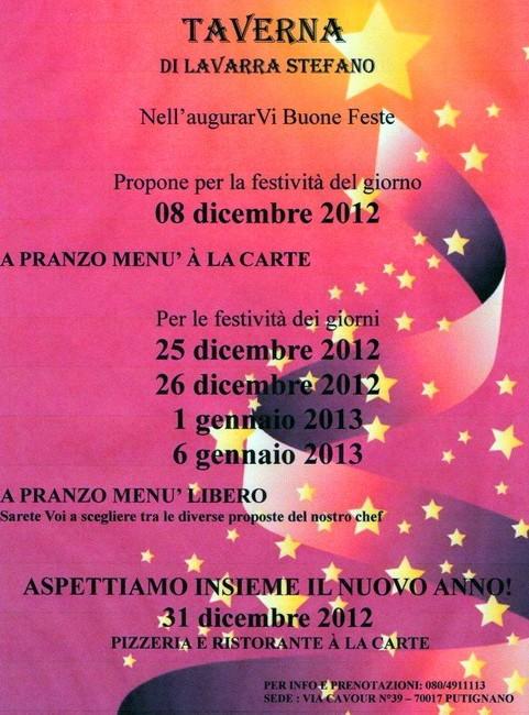 Taverna_appuntamenti_natalizi