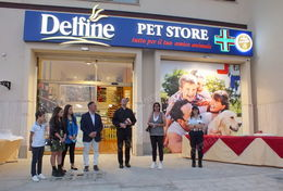 Delfine Pet Store inaugurazione low