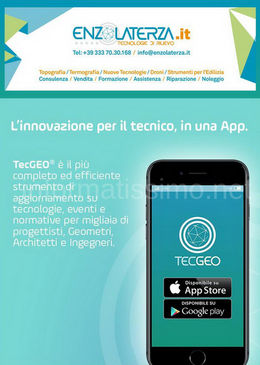 Enzo Laterza App TechGEO
