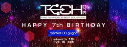 TECH 7 Compleanno