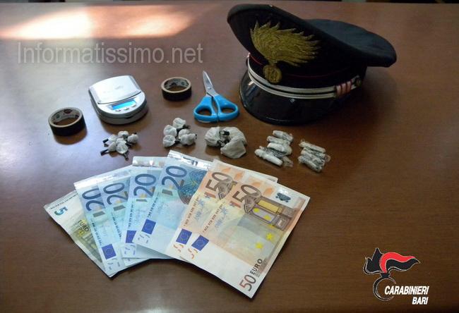 CC_Casamassima_droga_sequestrata