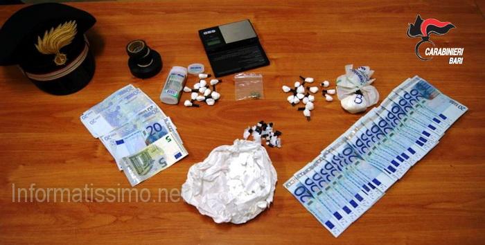 CC_Putignano_spaccia_droga_e_il_figlio_incassa