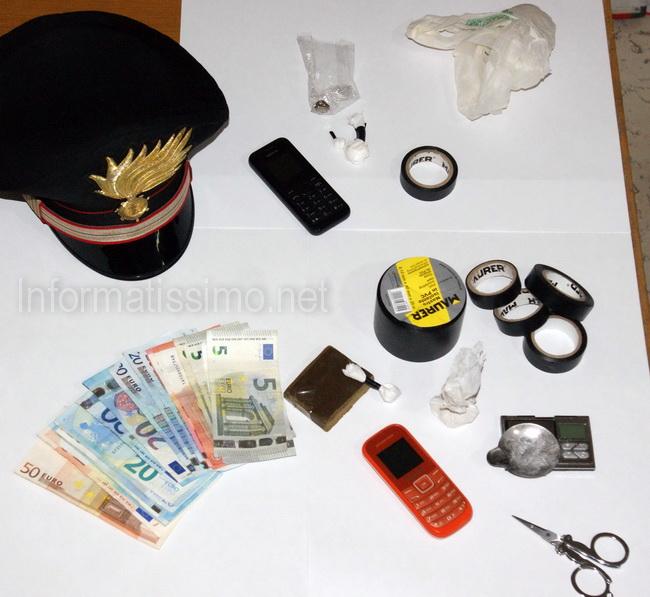 CC_Turi_-_droga_e_denaro_sequestrati