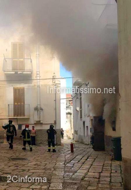 Incendio_abitazione_centro_storico_Castellana