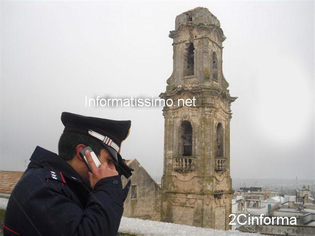 Noci_Fulmine_abbatte_campanile_della_chiesta_madre_foto_2C