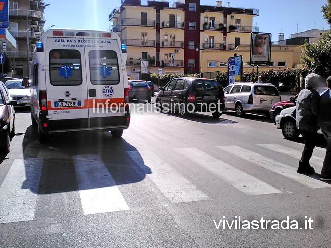 Pedone_investito_Via_Cav._Di_Malta_Putignano