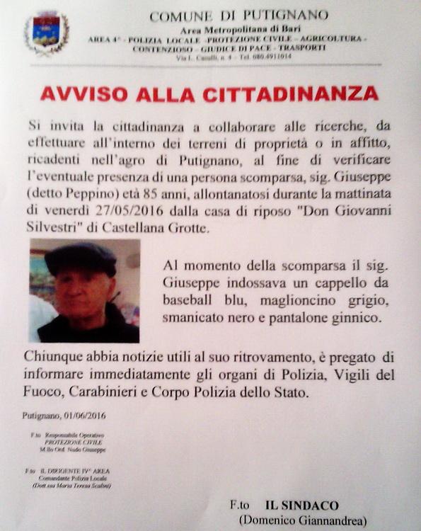 Scomparso_-_Giuseppe_Giliberti