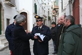 il Comandante dei Carabinieri di Putignano, Bartolomeo Nucci