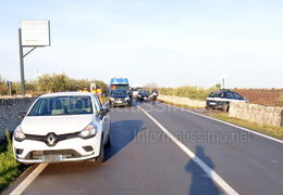 SS 172 incidente a tre C.da Mazzaro