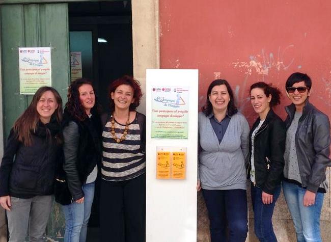 Compagni_di_Viaggio_sede_del_progetto_e_volontari_foto_FB