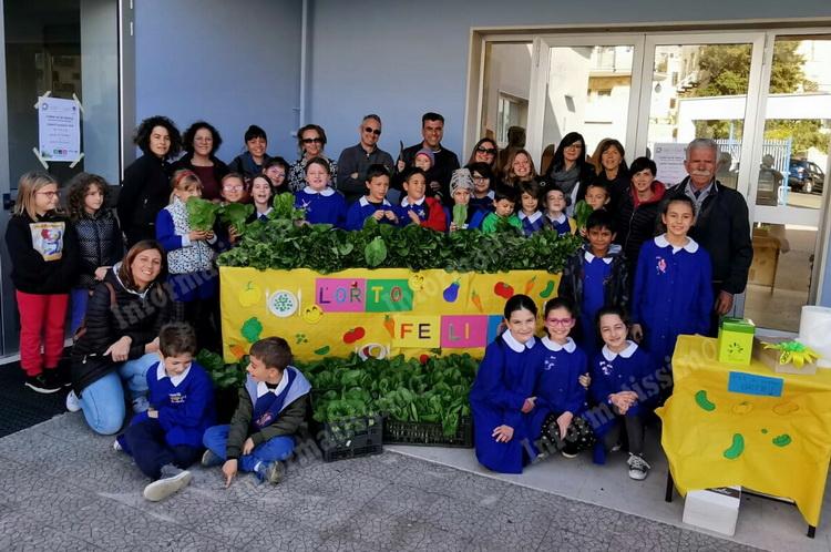 L'orto scolastico della «De Gasperi - S. da Putignano» va in tavola - Putignano Informatissimo