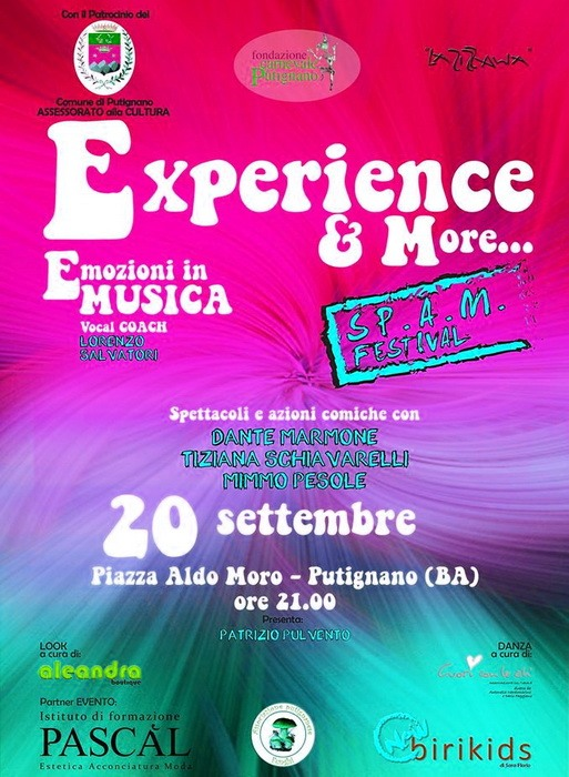 Spam_Experience_Putignano