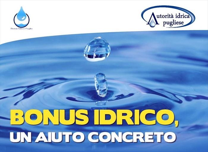 Bonus_Idrico_Puglia