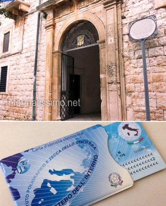 Putignano arriva la carta d 39 identit elettronica - Comune di sala consilina ufficio anagrafe ...