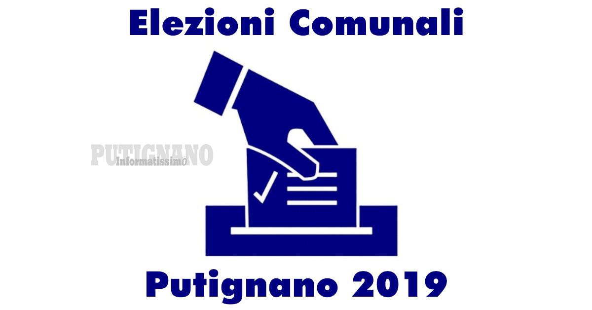 Amministrative Putignano 2019