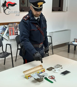 CC Putignano Sequestro hashish e marijuana