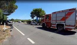 Incidente SS172 Putignano Alberobello 2 feriti