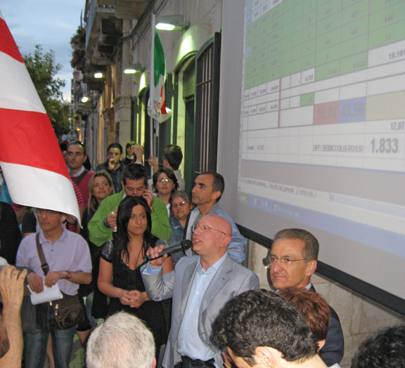 De Miccolis eletto sindaco putignano ballottaggio